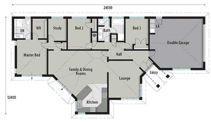 Ver diseño de casa de ladrillos vistos