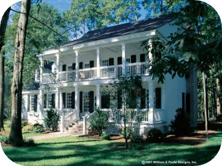 Plano de casa estilo colonial de 4 dormitorios - Dormitorio estilo colonial ...