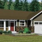 Planos de casas estilo americano de una planta