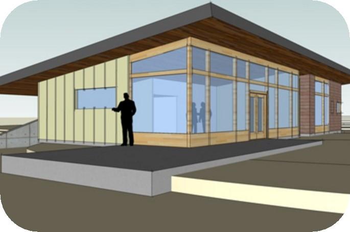 modelos de casas vidriadas