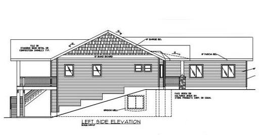 Casa moderna para terreno en desnivel