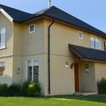 Planos de casas con techo doble altura