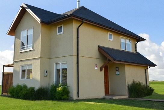 Casas con techo doble altura