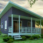 Plano de casa de 6 x 6 metros