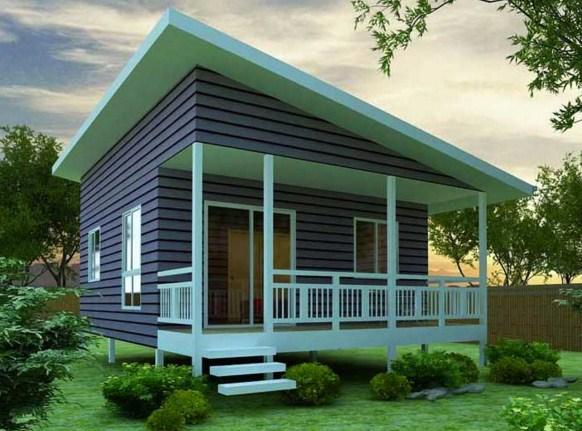 Diseño de casa de 6 x 6 m