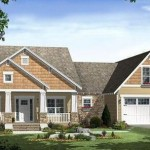 Plano de casa de 3 dormitorios y garaje doble