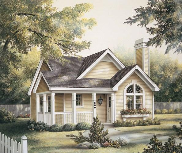 Modelo de casa de 10 x 12 m
