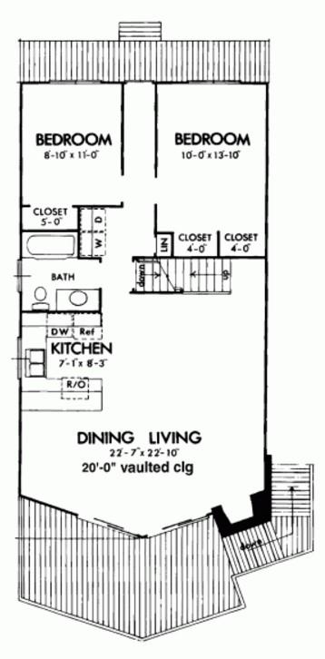 Modelo de casa de 140 metros cuadrados en 2 pisos