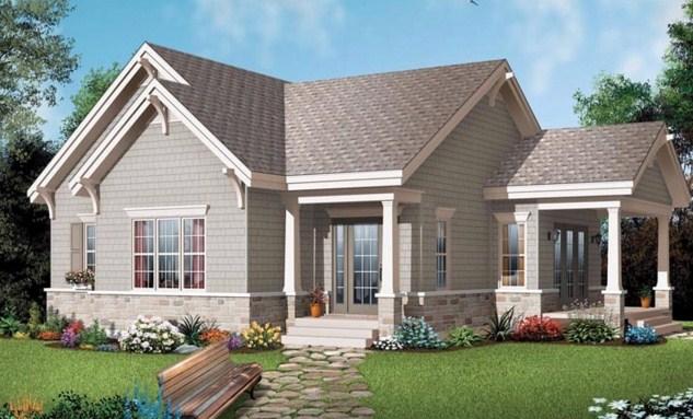 Modelo de casa de 3 ambientes