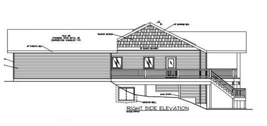Modelo de casa para terreno incliado