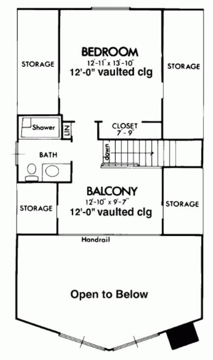 Plano de casa de 140 metros cuadrados en 2 pisos