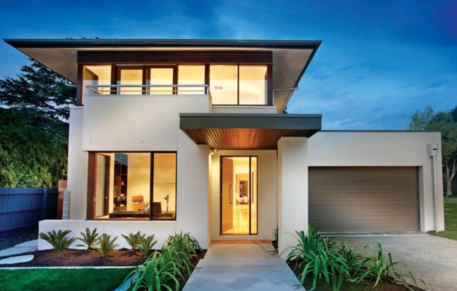 Plano de casa de 330 metros cuadrados con 4 dormitorios
