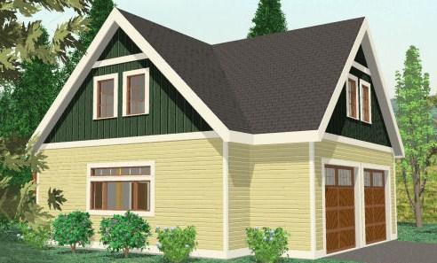diseño de casa granero