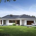 Plano de casa de un piso con medidas