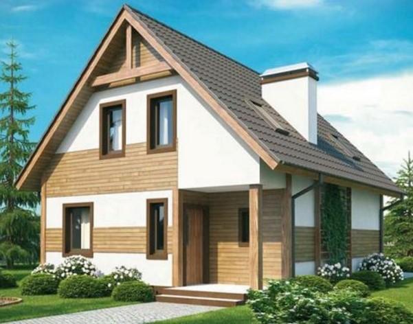 Casa rustica de 2 pisos