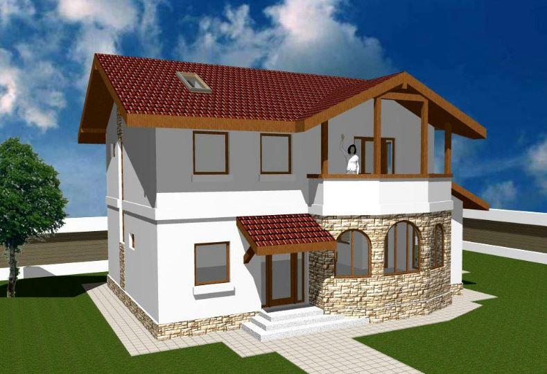 Modelos de casas de 2 plantas con 3 dormitorios for Planos de casas de 2 plantas