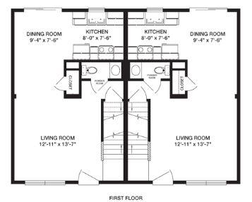 Casas duplex planos