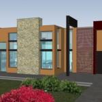 Diseño de casa de 4 recamaras