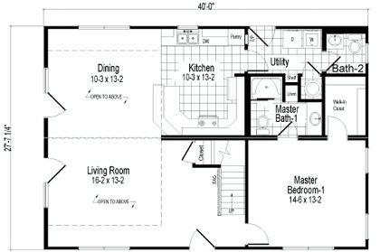 Diseño de casa de madera de 2 pisos