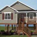 Diseño de casa elevada