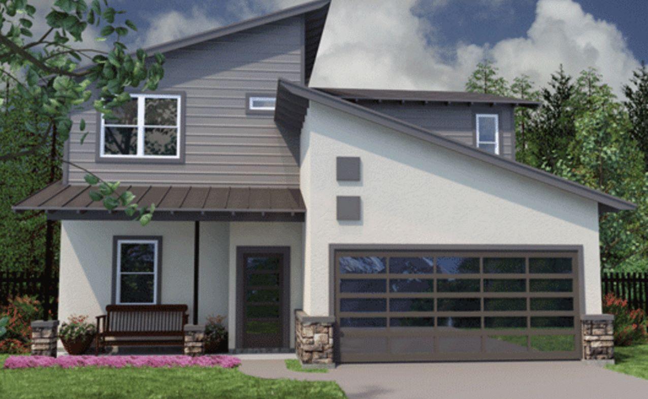 Plano de casa de 2 pisos planos y casas - Casas de dos plantas ...