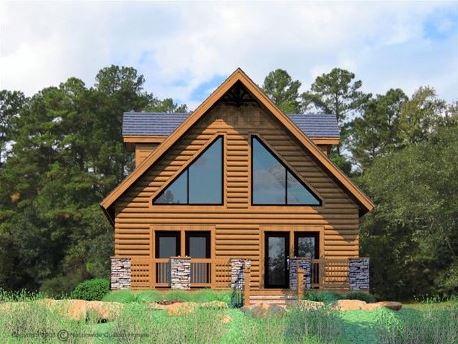 Dise o de casa de madera de dos pisos for Modelos de casas de dos pisos