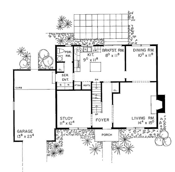 Modelos de casas de dos plantas con 3 dormitorios
