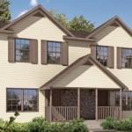 Planos de casas gemelas