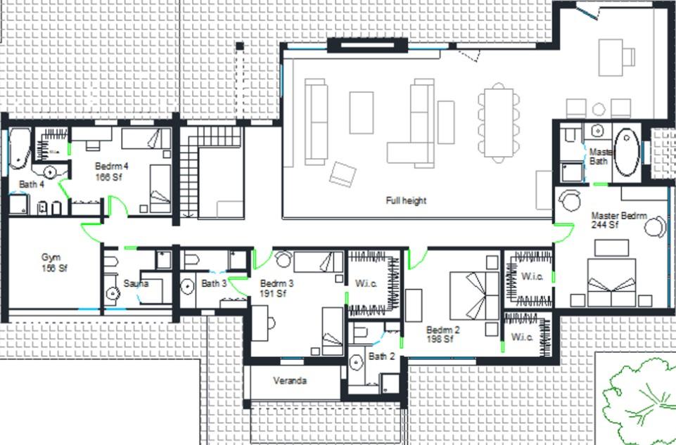 casa de 4 recamaras y 2 pisos