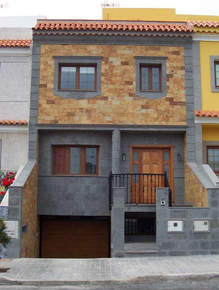 Fachadas de casas de cantera for Colores para fachadas de casas 2016