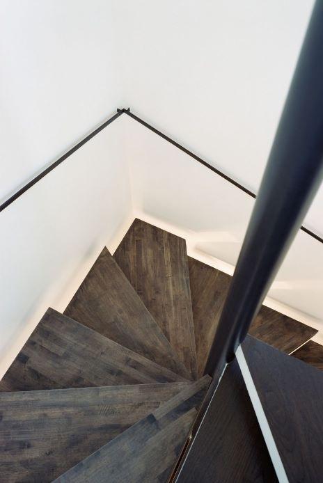 escalera para casa angosta