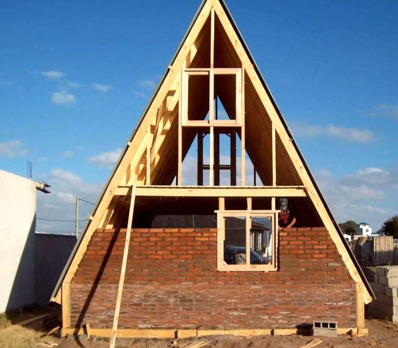 Como construir una caba a alpina paso a paso planos y casas - Como construir una cabana ...