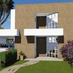 Planos de casas de 3 recamaras y 2 pisos