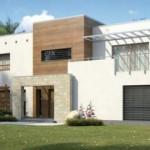 Planos de casas de dos plantas con medidas