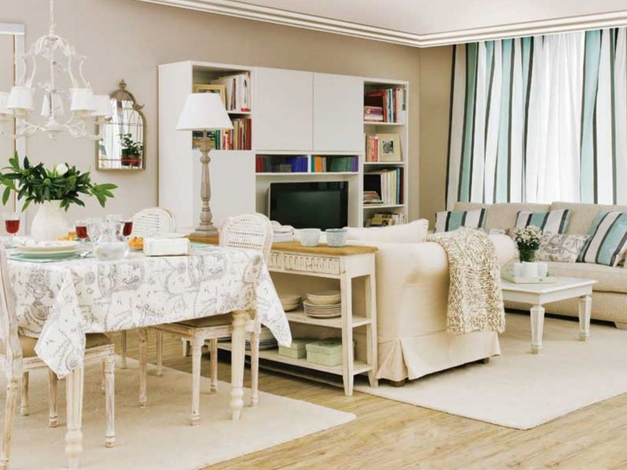 Ideas para decorar living comedor 3 × 4 mts