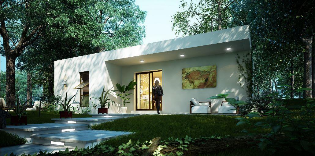 Modelo de casa para dos personas