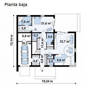 planos de casas 7 por 15