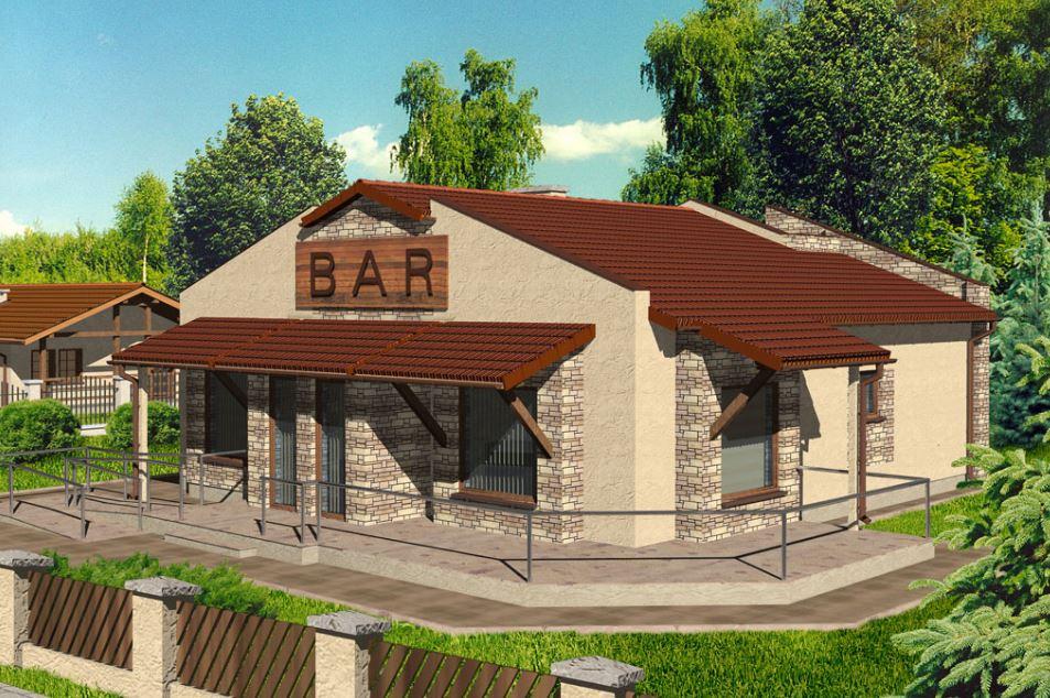 Planos de bares pequeños