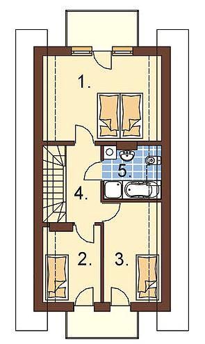 Planos de casas con cochera abajo