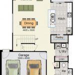 Planos de casas de 2 pisos con medidas