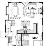 Planos de casas de 3 dormitorios y 2 baños