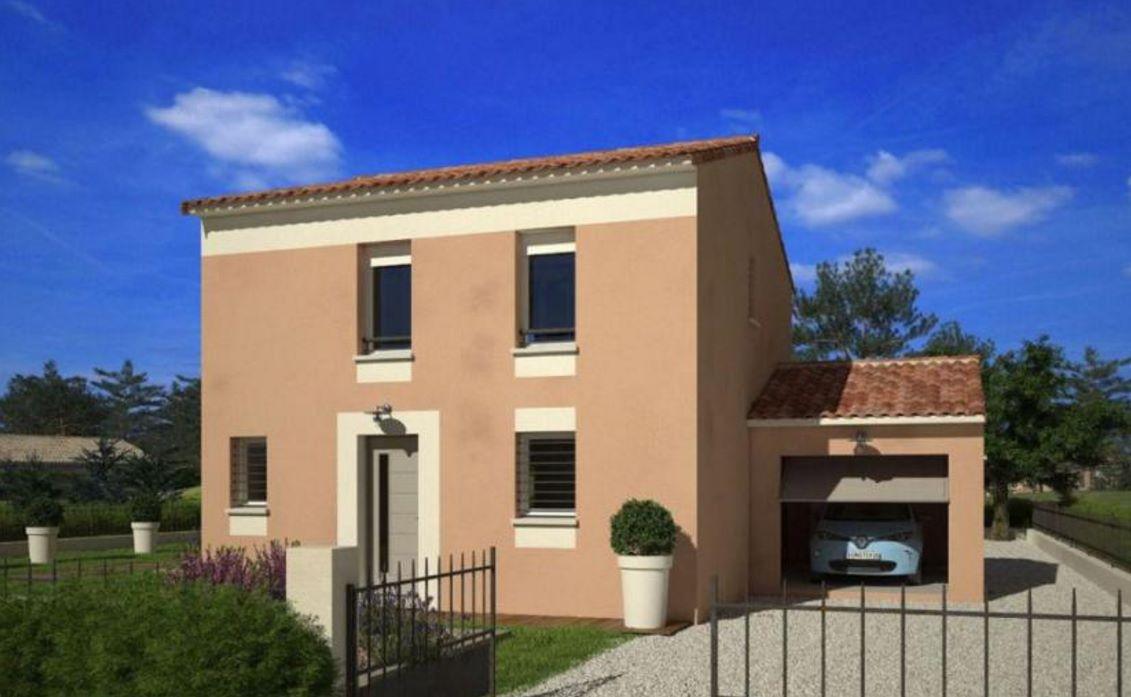 Casa de 90 metros cuadrados 2 plantas for Diseno para casa de 90 metros cuadrados