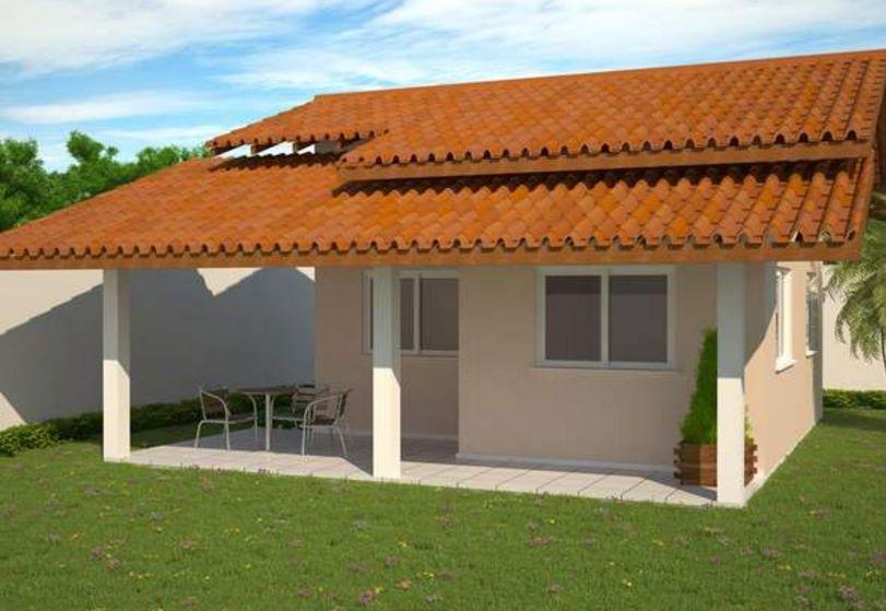 Plano de casa peque a de 3 dormitorios - Modelo de casas de una planta ...
