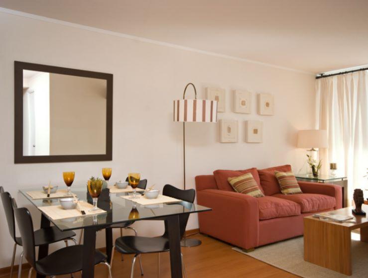 Ideas para decorar living comedor 3 × 4 mts