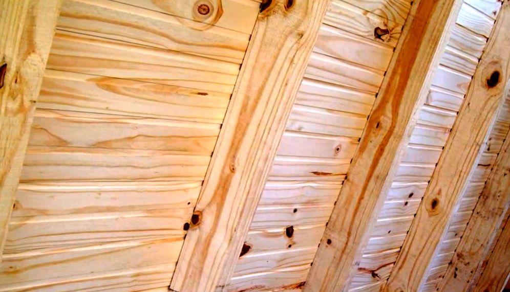paredes de casa alpina