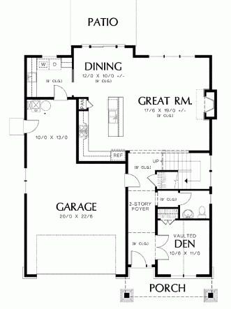 planos de casas de dos pisos con garaje