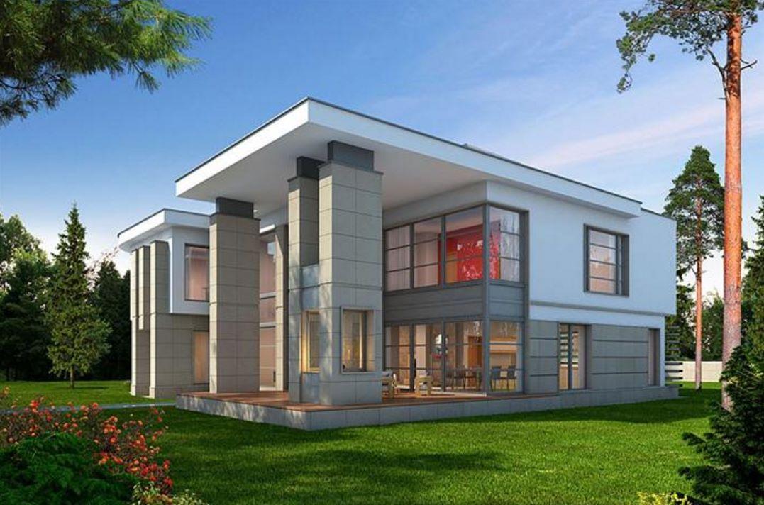 2 pisos con estilo moderno