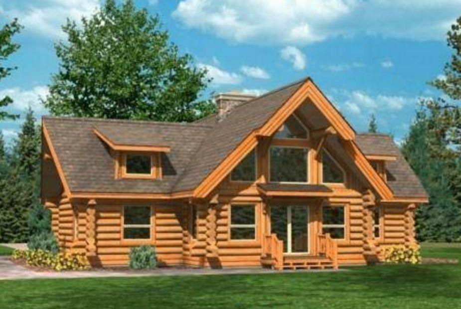 Plano de caba a hecha con troncos - Como hacer una cabana de madera ...