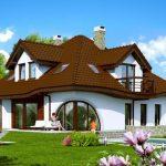 Casa clásica rústica