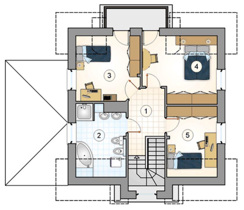 plano de casa rustica